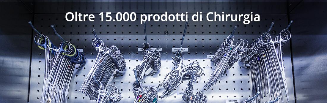 Oltre 15.000 strumenti per la chirurgia e la vostra sala operatoria.
